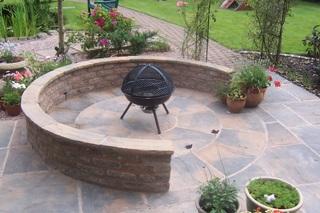 Landscape garden photos garden maintenance derbyshire for Garden design derbyshire